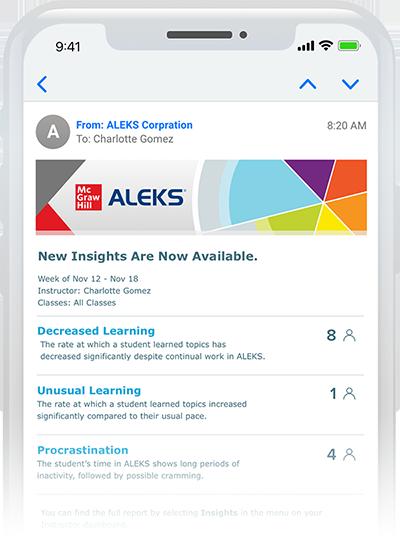 ALEKS insights